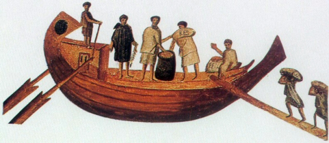 byzantine ship